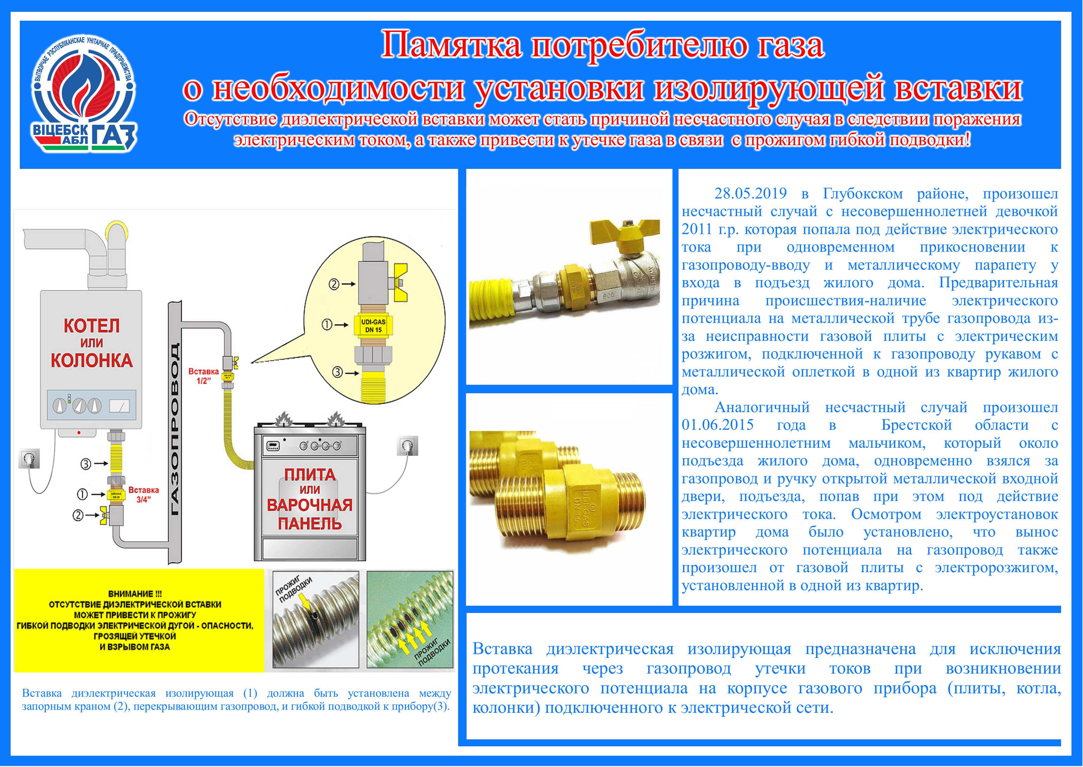 Техника безопасности при пуске газа в жилой дом дома ремонт электробытовой техники